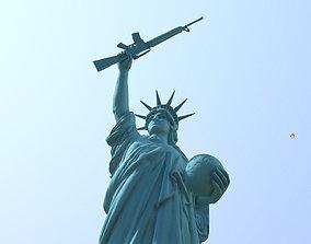 Statue of Liberty 3D print model awarelism