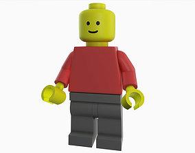 3D Lego Minifig
