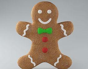 Gingerbread Man 02 3D