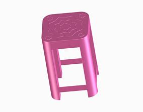 3D printable model interior Stylish Medium Stool