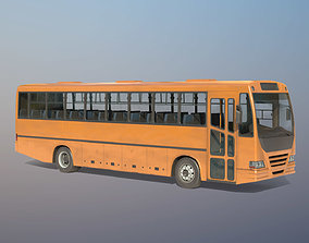 City Bus 3D asset game-ready