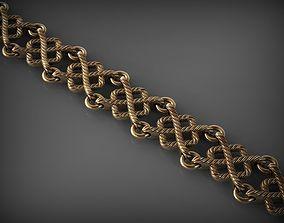 Chain Link 100 3D print model