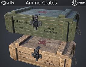 3D asset Ammo Crates