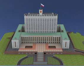 3D asset The House of the Government of the Russian