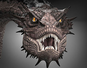 3D model Smaug Hobbit Dragon