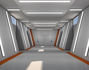 sci 3D model Sci Fi Interior