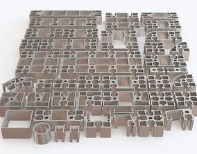 3D Profile aluminium 02