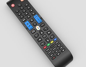 3D asset TV Remote Control