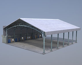 MilitaryBase PortoVelho Hangar 03 3D model