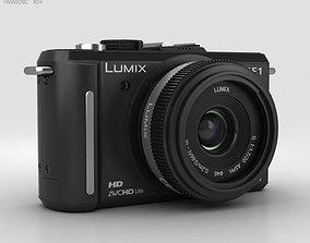 Panasonic Lumix DMC-GF1 Black 3D