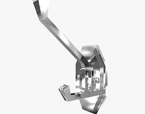 3D Lefroy Brooks MK 4656 MACKINTOSH ROBE HOOK