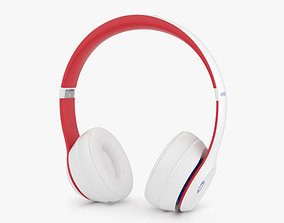Beats Solo 3 Wireless White 3D model
