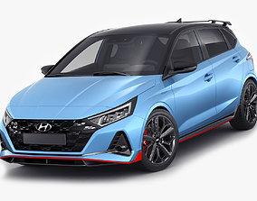 i20-n Hyundai i20 N 2021 3D