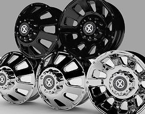4x4 Rims American Racing ATX series 189 3D
