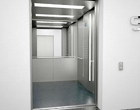 Elevator Otis 3D asset