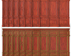 3D Wooden panels 03 04