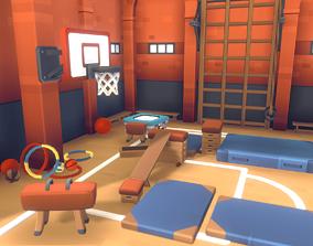 3D asset Gym Set - Proto Series