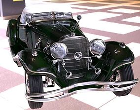 Roadster car 3D model
