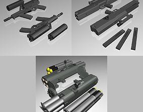 3D model Weapons Collection 02