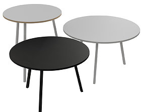 3D model Loop Stand Round Table