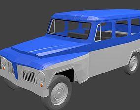 3D model Rural Willys Perua