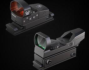 Red Dot reflex and Vortex Venom 3D model