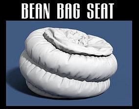3D model Bean bag seat 15