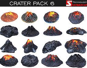 Crater Pack 6 3D model