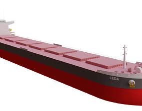 Leda Bulk Carrier ship 3D model