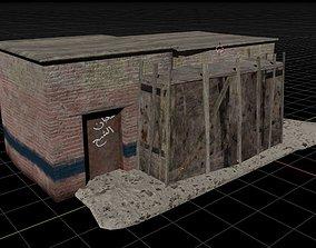 Shanty House 3D asset