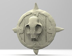 3D printable model Brutal Orc Shield