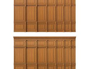 Wooden panel 03 luxurio 3D model