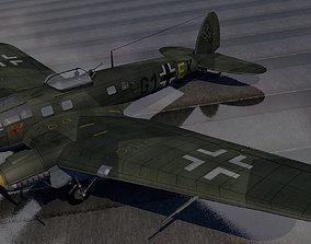 aircraft Heinkel He-111H-3 3D model