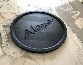 Alexa Echo Dot Saucer 3D