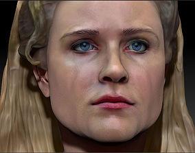 Dolores Abernathy Westworld 3d Print model Evan Rachel