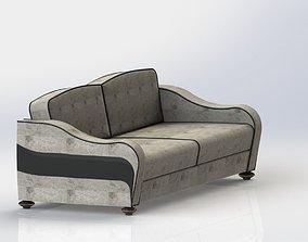 classic sofa upholstery 3D