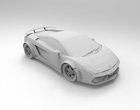 3D print model Lamborghini Gallardo Specs