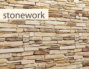 Stone slate 3D 31