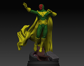 3D printable model Marvel Comics Vision