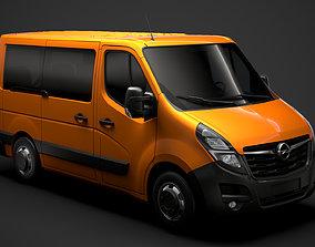 Opel Movano L1H1 WindowVan 2020 3D