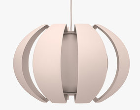 Stockholm Hanging Lamp 3D model realtime