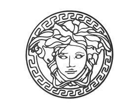 3D model Gianni Versace Logo v1 001