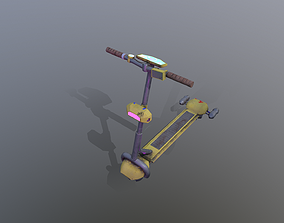 3D model Hover Kick scooter