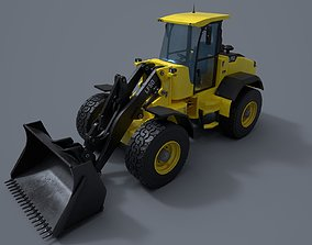 Wheel loader 3D asset VR / AR ready