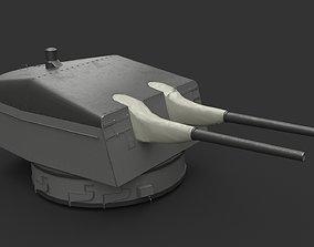 3D model 15cm SK C28 naval gun - version 1