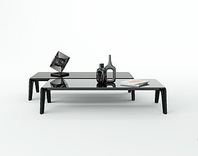 3D Minotti kirk coffe table