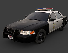 Los Angeles Police Car 3D model