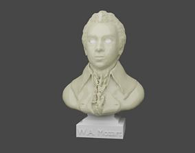 3D print model Wolfgang Amadeus Mozart