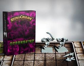 Retrocrusade - Greenskinz set 1 3D print model