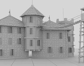 3D model Small Strange Castle